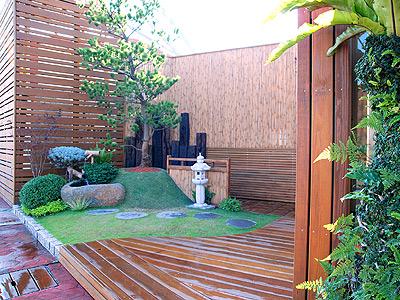 庭院设计效果图小院
