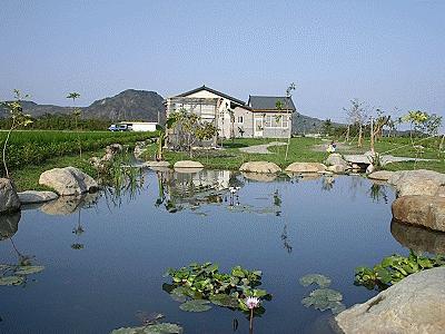 農村魚塘設計圖片大全