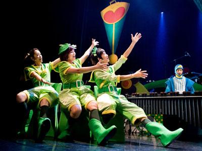 2011朱宗庆打击乐团儿童音乐会 豆荚宝宝生日派对
