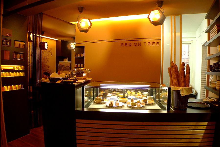 咖啡店吧台装修效果图